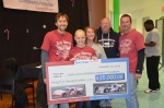 2011, another $35,000.  #Proud STAR 105.7's Tommy & Brooke, RA's Norm Jelsma and Jeff Striegle and the AMAZING Kierstynn Foster.