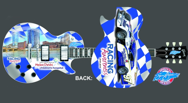 race for awareness guitar 8
